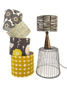 Skinny Laminx lampshades - yes please!