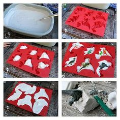 Make your own Dinosaur Fossils.