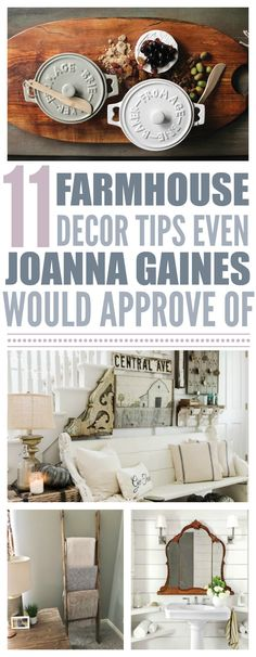 11 Farmhouse Style Tips Even Joanna Gaines Would Approve Of - That Vintage Life