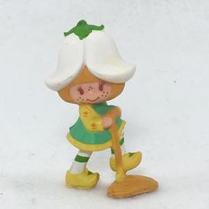 Strawberry Shortcake Vintage Mini PVC Mint Tulip Marsh Mallard 1984 (#04)  | eBay