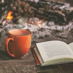 Tea and books. .