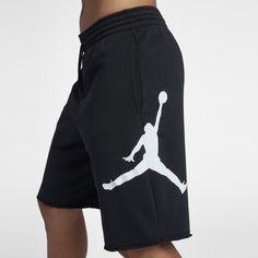 f773e172e4885c Jordan Jumpman Air Men s Fleece Shorts - Black Mens Fleece Shorts