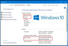 Microsoft has hidden the build number in an attempt to make Windows 10 look always-up-to-date, and there are still different editions of Windows 10 with different features. Microsoft is also still offering both 64-bit and 32-bit versions of Windows 10, too.
