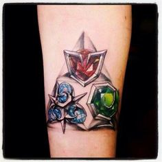 Maybe this would be a better idea for the triforce. Then again, a lot of people wouldn't get it. Hmmm...I guess I'm just worried the gems won't turn out as cool as I want them to.
