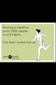 Marathon or M? OR, marathon THEN M :)