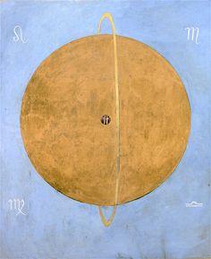 The Athenaeum - The Dove, No. 13, Group IX/UW, No. 37 (Hilma af Klint - )