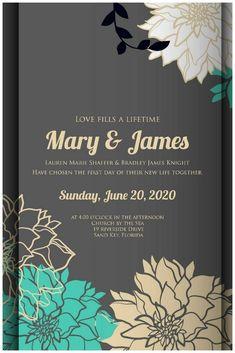 Special Types Of Wedding Invitations #weddinginvitation
