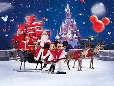Kerst in Disneyland!
