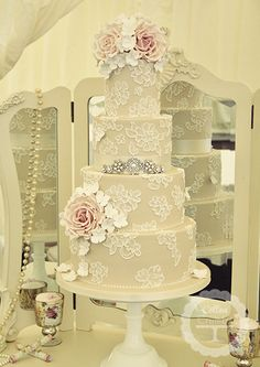Wedding Cakes   Cotton and Crumbs