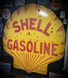 "18/""X8.5/"" RUSTY RICHFIELD LUBSTER MOTOR OIL VINYL DECAL GAS GASOLINE PUMP LUBSTER"