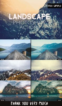 Free Landscape Photoshop Actions