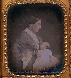 'The use of wet nurses had never been as common in the U.S. as in Europe, and it became even less popular by the early 1800s; breastfeeding your own child became a central measure of your worth as a mother.  'Cultural constructions of femininity became highly centered on motherhood and the special bond between a mother and her children in the Victorian era.'
