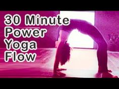 Latest 30 Minute Power Flow Yoga practice with Michelle Goldstein & Heart Alchemy Yoga on YouTube