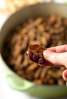 Easy Boiled Peanuts Recipe Ways! Best Boiled Peanuts Recipe, Cajun Boiled Peanuts, Boil Peanuts Recipe, Most Pinned Recipes, Most Popular Recipes, Favorite Recipes, Pollo Recipe, Boiled Food, Peanut Recipes