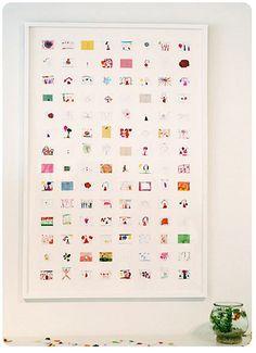 Collage of artwork #crafts