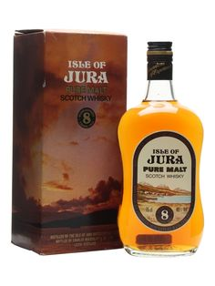 Isle of Jura 8 Year Old / Bot.1980s Scotch Whisky : The Whisky Exchange