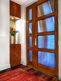 Contemporary Door Entry Design