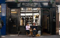 Monmouth Coffee - Londons bästa kaffe? Finns en vid Covent Garden och en vid Borough Market.