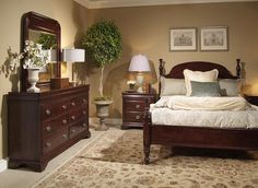 Adams Creek is available at Verbarg's Furniture. Furniture, Wall Colors, Home Decor, Four Poster Bed, Furniture Making, Four Poster, Bed, Bedroom Wall Colors, Dresser As Nightstand