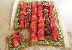 Strawberry Fig Pistachio Tart Recipe - JoyOfKosher.com