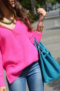 Fluor pink - The fashion through my eyes-Fashion blog by Carla Estévez