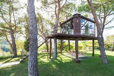 30 Airbnbs That Will Blow Your Mind (Not Your Budget)  #refinery29  18  Glass Treehouse, Tuscany, Italy