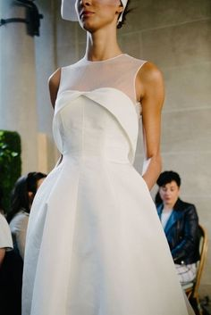 White bride dresses. Brides think of finding the most appropriate wedding ceremony, but for this they need the ideal bridal dress, with the bridesmaid's outfits complimenting the brides-to-be dress. Here are a variety of tips on wedding dresses.