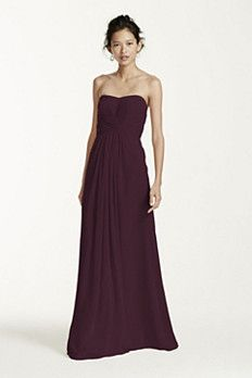 One dress, endless possibilities! Perfect for those bridesmaids that don't all have the same style.