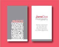 Inspiració per noves targetes de visita. Visit card inspiration.