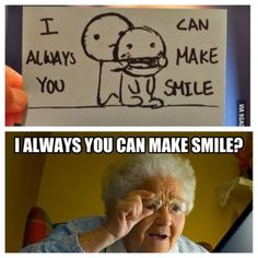 That's the way I read it. Make Smile, Good Smile, Make You Smile, Thats The Way, That Way, Funny Quotes, Funny Memes, Smile Because, Just For Laughs