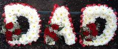 DAD Flower Letter Tribute