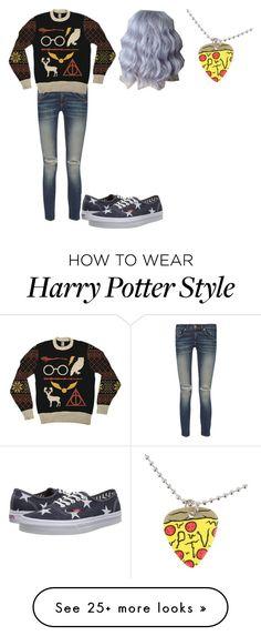 """""""Untitled #361"""" by jjgraybill01 on Polyvore featuring rag & bone and Vans"""