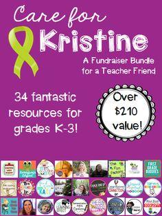 This bundle is amazing! A super discount to benefit a super teacher!