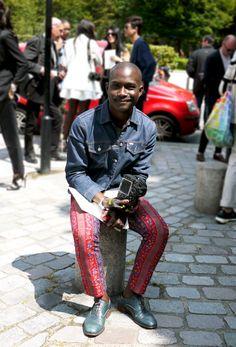 Street Style Models Paris Street Style by Lelook : Dapper Lou - Lelook