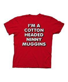 Look what I found on #zulily! 'Cotton Headed' Tee - Men's Regular #zulilyfinds