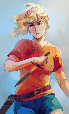 Annabeth Chase is a demigod daughter of the Greek goddess Athena and girlfriend of Percy Jackson. She is one of the main protagonists in Percy Jackson and the Olympians and The Heroes of Olympus. She appears in The Staff of Serapis and meets Sadie Kane. Percy Jackson Annabeth Chase, Percy Jackson Fan Art, Percy Jackson Fandom, Percy E Annabeth, Percy Jackson Characters, Percy Jackson Books, Clarisse Percy Jackson, Percy Jackson Official Art, Percabeth