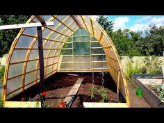 Building A Gothic Arch Greenhouse Part 2