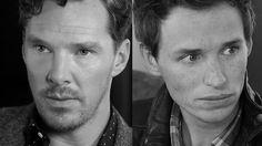 Benedict Cumberbatch and Eddie Redmayne- NYTimes.com