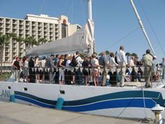 Aolani Catamaran Sailing - 48 guest max  Private charter events only http://www.aolani.cc San Diego, CA