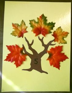 counting leaves - Re-pinned by #PediaStaff.  Visit http://ht.ly/63sNt for all our pediatric therapy pins