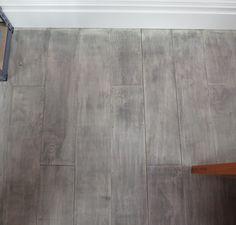 gray plywood floor