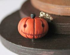 Image result for polymer clay pumpkin