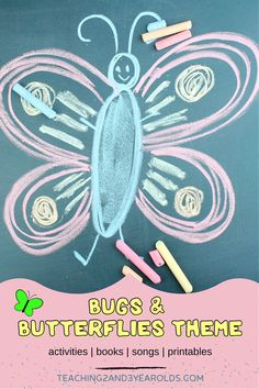 Get ready to plan with these toddler and preschool bugs andbutterfliestheme resources! This collection includes activities, songs, books and printables that we will be using in our toddler and preschool classroom this year. #toddlers #preschool #bugs #butterflies #theme #activities #songs #books #printables #2yearolds #3yearolds #spring #teachers #teaching2and3yearolds Bug Activities, Toddler Activities, Preschool Classroom, Toddler Preschool, Butterfly Songs, Color Songs, Lesson Plans For Toddlers, Spring Books, Butterfly Life Cycle