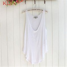 KLV Coolbeener Fashion Summer Woman Lady Sleeveless V-Neck Candy Vest Loose Tank Tops T-shirt dec13     Tag a friend who would love this!     FREE Shipping Worldwide     Get it here ---> http://onlineshopping.fashiongarments.biz/products/klv-coolbeener-fashion-summer-woman-lady-sleeveless-v-neck-candy-vest-loose-tank-tops-t-shirt-dec13/