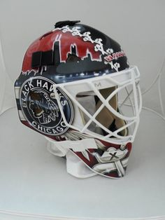 Scott Darling mask for the 2014 season (Right Side) please follow me,thank you i will refollow you later