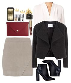 """""""Untitled #1633"""" by inthesun707 ❤ liked on Polyvore featuring Michelle Mason, Elie Tahari, Gianvito Rossi, Nicole Farhi, Vivienne Westwood, Too Faced Cosmetics, Mminimal, Christian Dior and Marc Jacobs"""
