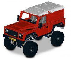 LEGO Set MOC-1873 - Landrover Defender 90