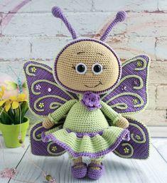 106 отметок «Нравится», 16 комментариев — 💠 ИГРУШКИ РУЧНОЙ РАБОТЫ 💠 (@osa_na_toys) в Instagram: «Бабочки летают, бабочки-и-и-иии😍 ⠀ Вы замечали, думаю, как природа щедра на расцветки в отношении…»