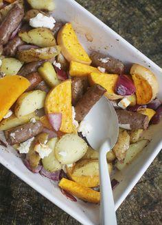 Aardappel ovenschotel met pompoen - Taste our Joy!