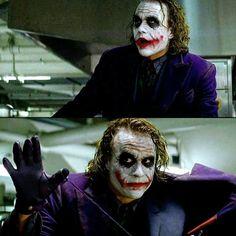 -Pin by Hicrete Dilmen Joker Meme, Joker Quotes, Heath Ledger Quotes, Heath Joker, Joker Dark Knight, Batman Ninja, Heath Ledger Joker, Best Villains, Joker Wallpapers